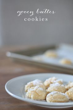 gooey butter cookies | this St. Louis favorite will soon be yours too!