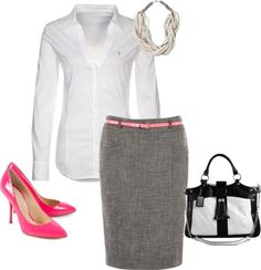 """""""For Work"""" by danimarie0430 ❤ liked on Polyvore"""