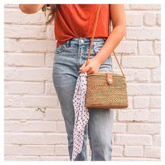 Tis the season 🎄 The Luna Ata Bag is a handmade Ata (rattan) bag made by artisans treated under fair trade principle in Bali, Indonesia. Summer Essentials, Tis The Season, Fair Trade, Bag Making, Rattan, Handmade, Fashion, Wicker, Hand Made