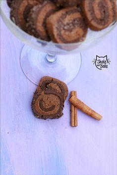 Cinnamon&Cocoa cookies #cookies #cinnamon #cocoa #chocolate #biscuits #foodblogger #shakeandbake