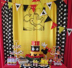 Mickey Mouse decoração