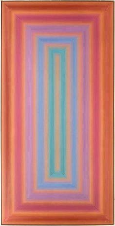 Richard Joseph Anuszkiewicz (b. 1930) Untitled (Portal Series), 1971, Acrylic on masonite, - Price Estimate: $60000 - $80000