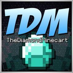 the diamond minecart - Google Search