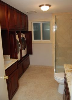 Basement Laundry Room Bathroom Combo Reveal The Elm Life Blog