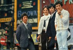 Ronnie Lane, Stave Marriott, Ian ''Mac'' McLagan and Kenney Jones