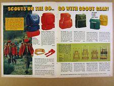 1974 Official Boy Scout Packs Backpacks Pack Frames Gear vintage print Ad