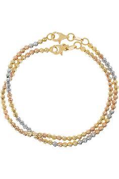 Carolina Bucci   Disco Ball set of two 18-karat gold bracelets   NET-A-PORTER.COM