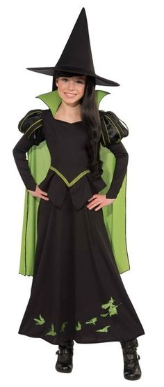 Costume Party Dress Up | Wizard of Oz Party Supplies | Wicked Witch of the West Costume Decoration