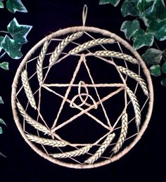 lammas  Pagan / Wiccan Handfasting Pentacle Designed and Hand Made with Love by Rowan Duxbury. Find me on my : 'Positively Pagan Crafts ' Facebook page.