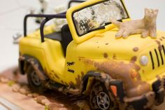 Jeep Groom's Cake | Flickr - Photo Sharing!
