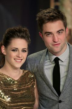 Robert Pattinson and Kristen Stewart Nov. 16