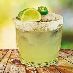 I Cocktails: Spicy Margarita Cocktail