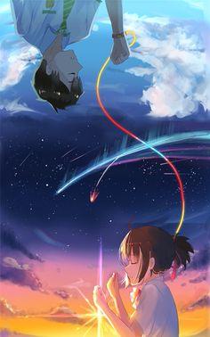 Your Name - Taki & Mitsuha
