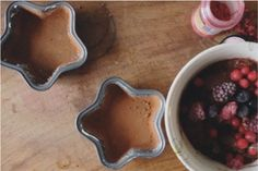 . lily&Bloom . chocolate raspberry brownies .