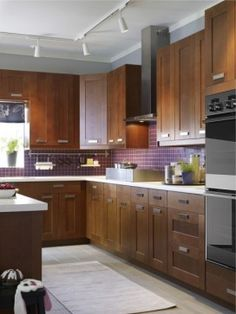 Ikea Kitchen Design Ideas, Pictures, Remodel, and Decor - page 3