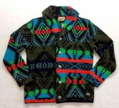 Denim-Supply-Ralph-Lauren-Men-Southwestern-Aztec-Indian-Tribal-Sweater-Cardigan
