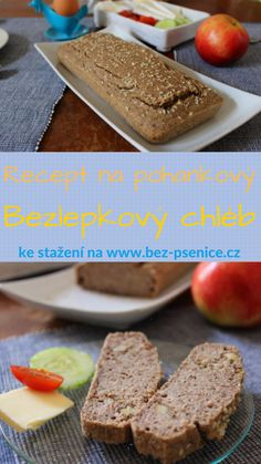 Oblíbený recept na bezlepkový pohankový chléb volně ke stažení v pdf formátu.