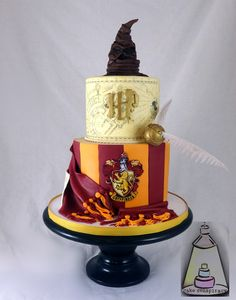 Awesome Harry Potter Birthday Cake