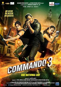 commando 3 Hindi HDRIP Jammwal starrer Commando 3 has found its way to piracy website Tamilrockers. Directed by Aditya Datt, the film also stars Gulshan Devaiah, Adah Sharma Bollywood Movies Online, Latest Hindi Movies, New Hindi Movie, Hindi Movies Online, Upcoming Movies, New Movies, Film D'action, Download Free Movies Online, English Movies