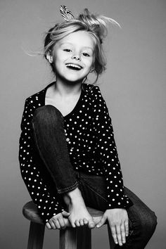 Model portfolio for Sarah Elizabeth Thompson) by commercial children…