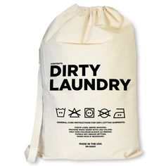 Dirty Laundry Bag: click to enlarge