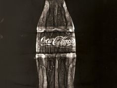 like other peoples rubbish ….Photogram of a Coke bottle