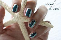 Manicure Mondays – Sand & Sea