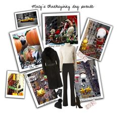 """""""Macy's thanksgiving day parade"""" by veronababy ❤ liked on Polyvore featuring мода, Gucci, Lanvin, Burberry и Chanel"""