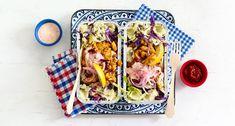Stamppot vis-kapsalon Lidl, Dinner, Melk, Food, Salads, Dining, Meal, Dinners, Essen