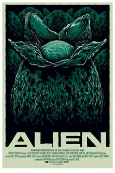 the first of the amazing posters for Alien that Mondo has had over the years.