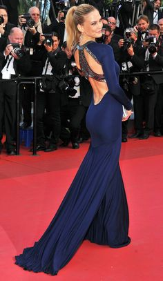 23 of the Most Major Model Moments at Cannes | People - Bar Refaeli in Roberto Cavalli in 2011