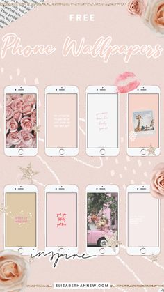Free Phone Wallpapers – Elizabeth Anne in 2019 Rose Gold Wallpaper, Free Phone Wallpaper, More Wallpaper, Lock Screen Wallpaper, Wallpaper Quotes, Wallpaper Backgrounds, Motivational Wallpaper, Ios Wallpapers, My Flower