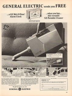1969 General Electric Portable Cleaner Advertisement Life Magazine October 10 1969 | by SenseiAlan