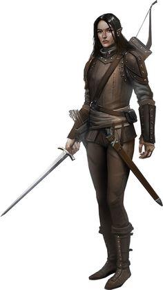 Half-Elf Ranger, Male