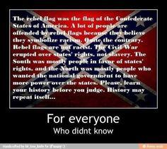 Rebel flag Learn the history, before ya judge it!