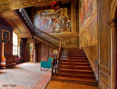 Hanbury Hall Interior 1, Droitwich, Worcestershire, GB