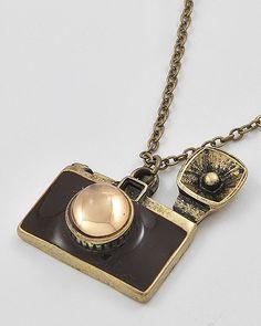 Camera Necklace by Big City Dreams on Storenvy $8.00