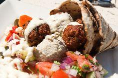 falafel!  (w/ hummus)