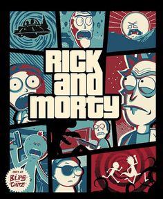 GTA Rick and Morty