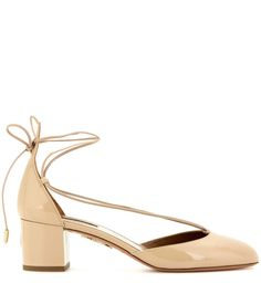 Alexa 50 nude patent leather pumps