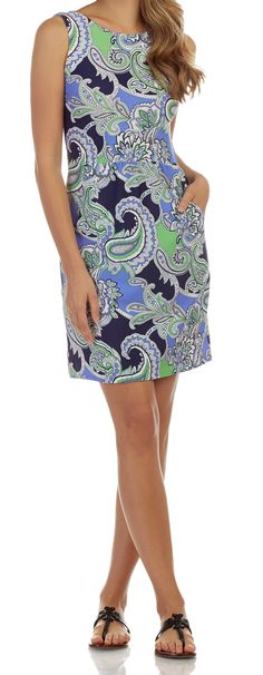 044d6c68a88 Mary Pat - Paisley Maxi Navy Resort Wear, Spring Collection, Paisley