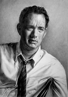 Tom Hanks by MannHau
