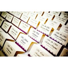 Vintage DIY place cards