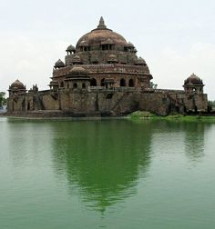 Tomb of Sher Shah Suri, Sasaram, Bihar, India.