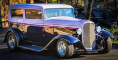 Hot Rod Muscle Car | Photo of 1932 Ford Tudor Old School Street Rod