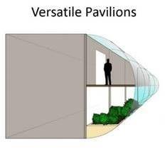 Design Sketches - Pavillon - Woodwharf, London ©Deepthi Martinet ©DM Design Studio