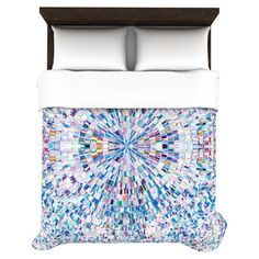 Found it at AllModern - Looking Duvet Cover in Blue