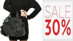 Сеть магазинов Goover предоставляет скидку -30% на новую коллекцию сумок! Торопитесь за модными покупками! http://goover-fashion.com/women-bags