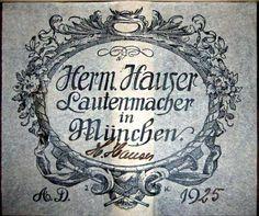 Classical Guitars - 1925 Hermann Hauser I SP/CSAR - Guitar Salon International