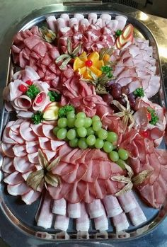 × , Check more at meatappetizers. Meat Trays, Meat Platter, Charcuterie Platter, Charcuterie And Cheese Board, Food Trays, Meat Appetizers, Appetizers For Party, Appetizer Recipes, Party Food Platters